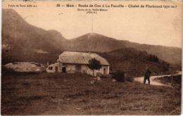 CPA Roche De La Vieille Maison Chalet Florimont (89140) - Ferney-Voltaire