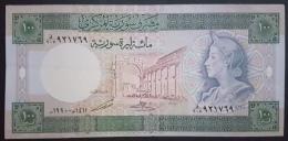HX - Syria 1990 100 Livres UNC - Siria