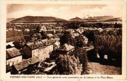CPA FERNEY VOLTAIRE - Vue Générale Avec Panorama (89237) - Ferney-Voltaire