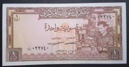 HX - Syria 1982 1 Livres UNC - Siria