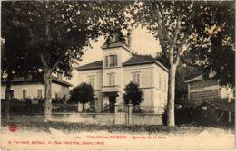 CPA VILLARS Les DOMBES - Quartier De La Gare (89368) - Villars-les-Dombes