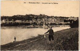CPA TREVOUX - Le Pont Sur La Saone (89418) - Trévoux