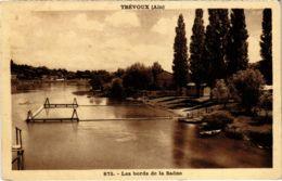 CPA TREVOUX - Les Bords De La Saone (89421) - Trévoux