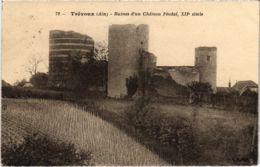CPA TREVOUX - Ruies D'un Chateau (89423) - Trévoux