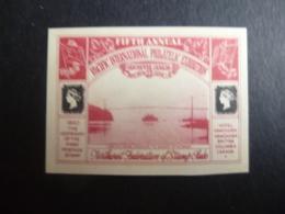CANADA LABEL PACIFIC INTERNATIONAL PHILATELIC EXHIBITION 1940 MINT SG - Unclassified