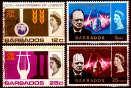 B149-Barbados 1966-1967 (o) Used - Senza Difetti Occulti - - Barbados (...-1966)