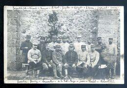 Cpa Carte Photo Du 80 Située à Amiens  En 1915 Militaires Du 75ème (2)  AVR20-178 - Amiens