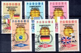 Serie De Panama N ºYvert  879/84 O - Panama