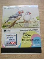 Autelca Phonecard,Birds,used - Korea, South