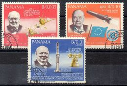 Serie De Panama N ºYvert  933/35 O ASTROFILATELIA (ASTROPHILATELIA) - Panama