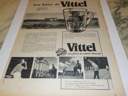 ANCIENNE PUBLICITE LES EAUX DE VITTEL 1958 - Affiches
