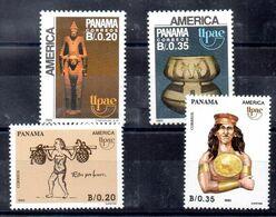 Series De Panama N ºYvert 1060/61+1071/72 ** UPAE - Panama