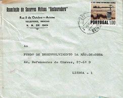 Portugal , 1971 , Meteorology Stamp , ASSOCIAÇÃO DE SOCORROS MUTUOS RESTAURADORA ,  Avintes  , Gaia - Umweltschutz Und Klima