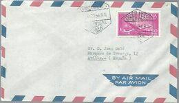 MATASELLOS 1956  CORREOS SUCURSAL TANGER FRANQUEO SELLO ESPAÑOL - Espagne