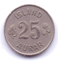 ICELAND 1966: 25 Aurar, KM 11 - Islanda