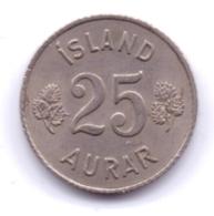 ICELAND 1965: 25 Aurar, KM 11 - Islanda