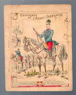 Couverture Illustrée  De Cahier D'écolier  CHASSEURS A CHEVAL N°2   (M0555) - Schutzumschläge