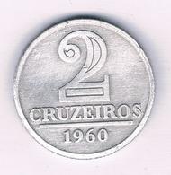 2 CRUZEIROS  1960  BRAZILIE /5990/ - Brazil