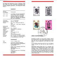 B01-175 BELG.1979 1921 & 1922 FDC Folder NL (Gent)   Rode Kruis  5€ - Documents Of Postal Services