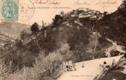CPA    ALGERIE---TIZI-OUZOU A FORT-NATIONAL----1904 - Tizi Ouzou