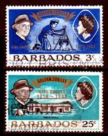 B154-Barbados 1968 (o) Used - Senza Difetti Occulti - - Barbados (...-1966)