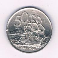 50 CENTS 1977  NIEUW ZEELAND /5996/ - New Zealand
