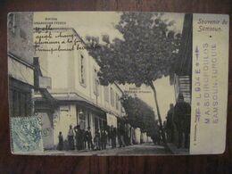 Empire Ottoman 1910 Souvenir De SAMSOUN Turquie Samsun CPA LEVANT Arménie Naples Turkey Voir Au Dos Tad - Turkey