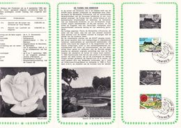 B01-173 BELG.1969 1501 & 1502 FDC Flora Flore Jambes 3.5€ - Documents Of Postal Services