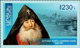 Artsakh - Armenia - Nagorno Karabakh 2020 Mi 224 Mkrtich Khrimian Hayrik Catholicos Of All Armenians Educator MNH** - Armenia