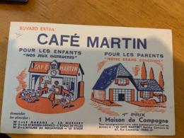 1 BUVARD CAFE MARTIN - Koffie En Thee