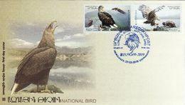 Artsakh - Armenia Arménie Armenien - Nagorno Karabakh 2019 FDC Europe Europa Eagle Flora Fauna Birds Nature - Armenië