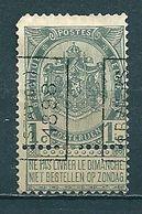 163 Voorafstempeling Op Nr 53 - VERVIERS STATION 1898 - Positie A - Precancels