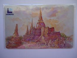 THAILAND LENSO USED NUMBER 40/500 TEMPLE PHRASRI SANPHET - Tailandia