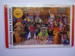 THAILAND LENSO USED NUMBER 42/500 AMAZING ART & LIFESTYLE CARNIVAL MUSK - Tailandia