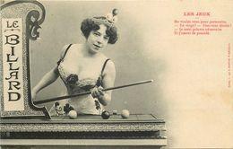 LE BILLARD  (bergeret) - Postcards