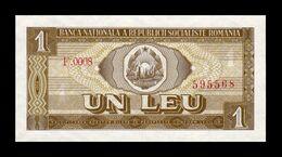 Rumania Romania 1 Leu 1966 Pick 91 SC UNC - Roemenië