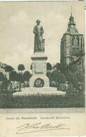 Groet Uit Maastricht 1905; Standbeeld Minckelers - Gelopen. (Uitgever?) - Maastricht