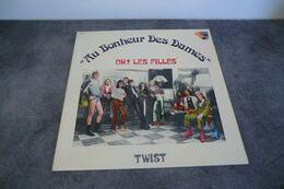 """Disque - """"au Bonheur Des Dames"""" - """"oh ! Les Filles"""" - Philips 6325075 - 1974 France - - Rock"""