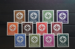 Deutsches Reich Dienstmarken 166-177 ** Postfrisch #UJ885 - Dienstpost