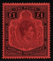 Nyassaland 1938 - Mi-Nr. 69 * - MH - Freimarken / Definitives - Nyasaland (1907-1953)