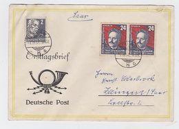 Lettre Premier Jour DDR Marquer Faux?????? - [6] Repubblica Democratica