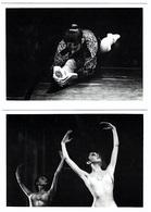Lot 10 Cartes Ballet Danse Lydia De Wismes Photo P. Marché  Aventure Carto Tirage Limité 1991 état Superbe - Baile