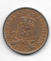 *netherlands Antilles 2,5 Cent  1975   Km 9 - Antillen (Niederländische)
