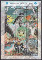 1998St Vincent And Grenadines4440-4448KLSea Fauna8,00 € - Meereswelt