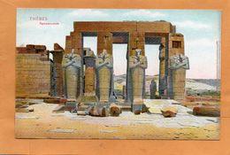 Thebes Egypt 1905 Postcard - Egypte