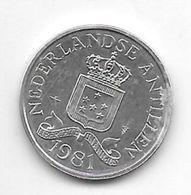 *netherlands Antilles 2,5 Cent  1981   Km 9a - Antillen (Niederländische)