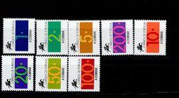 Portugal Portomarken Ziffern 87- 94 MNH ** Neuf - Ongebruikt