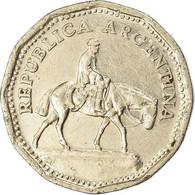Monnaie, Argentine, 10 Pesos, 1967, TB+, Nickel Clad Steel, KM:60 - Argentinië