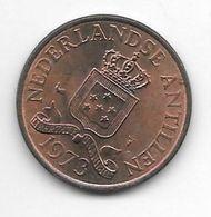 *netherlands Antilles 2,5 Cent  1973  Km 9  Unc - Antillen (Niederländische)