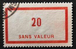 France Fictif N° F87 Oblitéré, TTB. Cote 2020 : 3 Euros. Voir Recto/verso - Fictifs